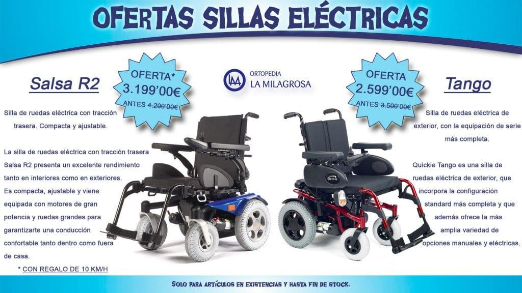 OFERTAS SILLAS DE RUEDAS ELÉCTRICAS